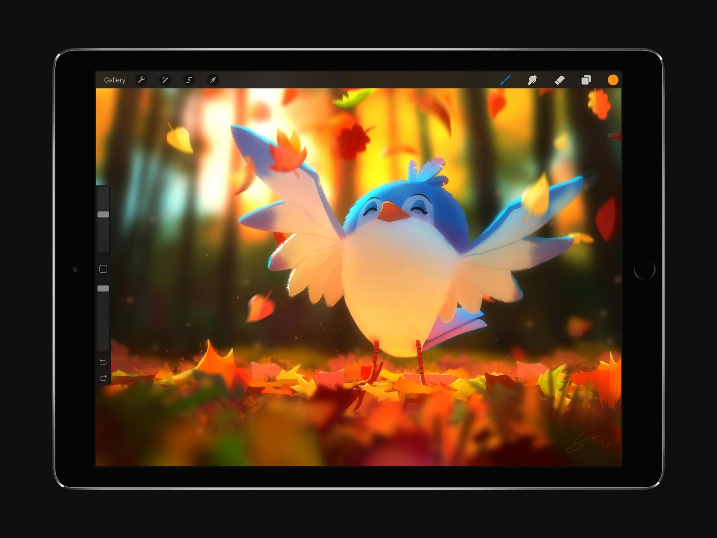 Meet Procreate 4, Featuring Layer Masks and an All New
