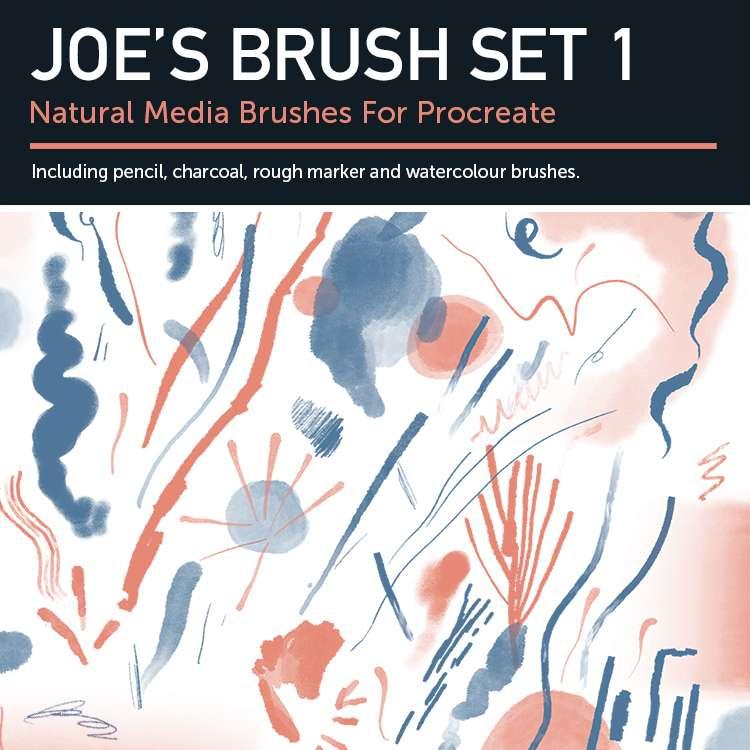 Joes Set 1 - Natural Media