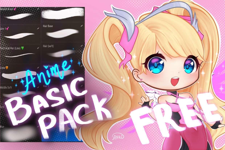 Free Anime Basic Brush