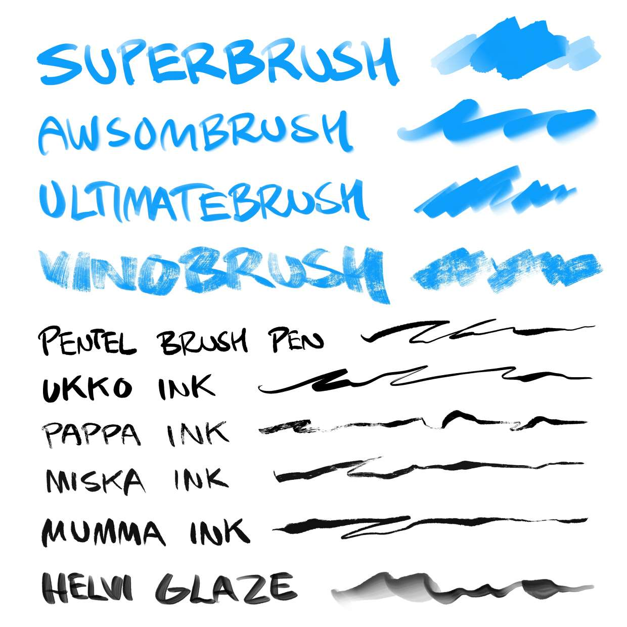 Tuhis' Brushes (Updated for 4 3!)